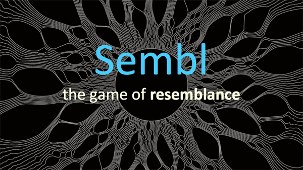 Sembl, the game of resemblance