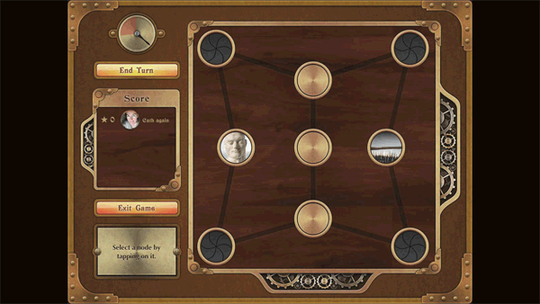 Sembl Museum gameboard for four teams of younger players