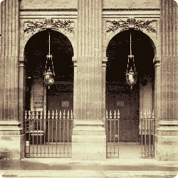 Detail of the Palais Royal